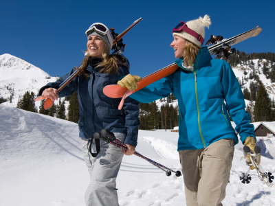 Best ski straps and pole carriers